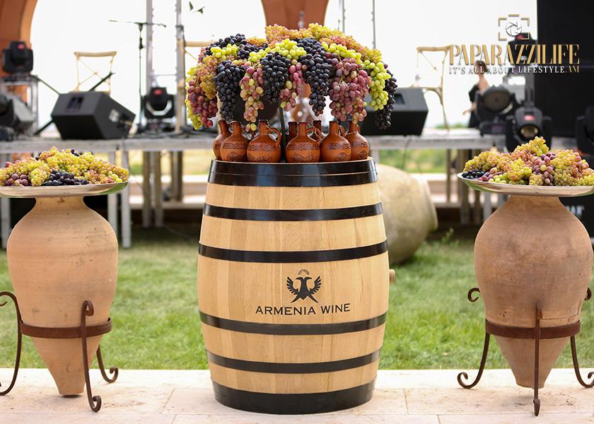 Խաղողօրհնեքը Armenia Wine-ում