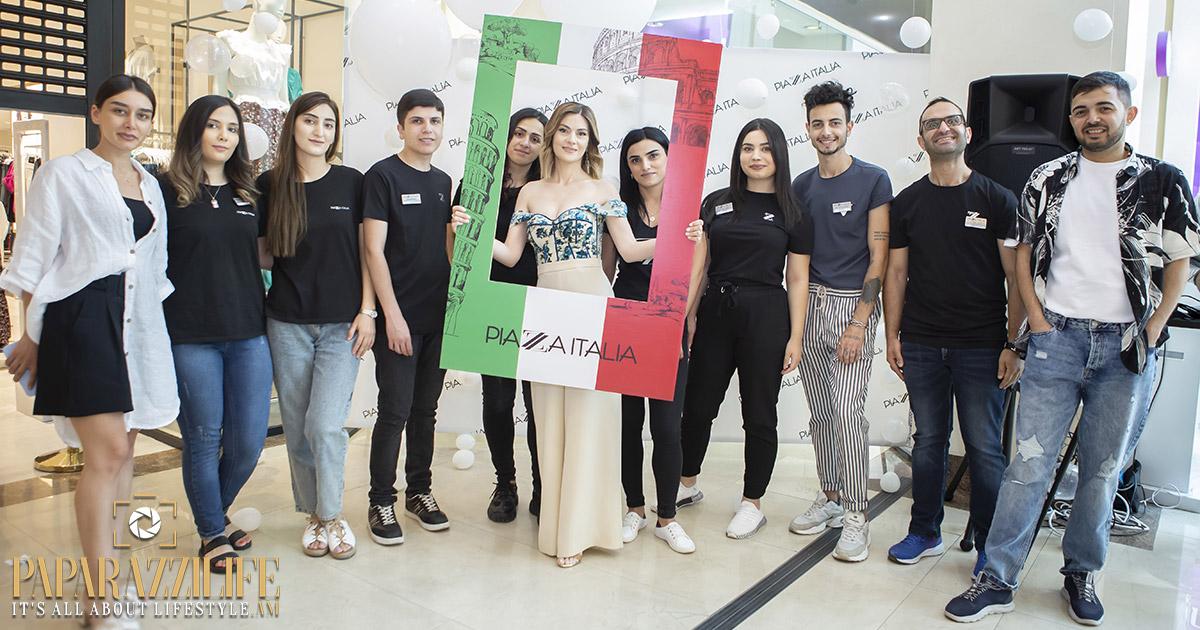 PIAZZA ITALIA բրենդը` Dalma Garden Mall-ում