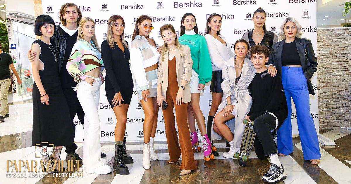Bershka խանութ-սրահի պաշտոնական մուտքը Mega Mall` նոր կոնցեպտով